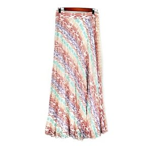 Atmosphere accordion pleated maxi skirt size 8